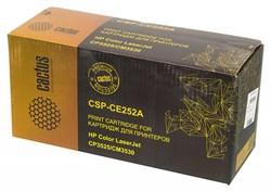 Лазерный картридж Cactus CSP-CE252A (HP 504A) желтый для принтеров HP  Color LaserJet CM3530, CM3530fs MFP, CP3520, CP3525, CP3525dn, CP3525n, CP3525x (10500 стр.) - фото 6091