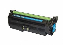 Лазерный картридж Cactus CSP-CE261A (HP 648A) голубой для принтеров HP  Color LaserJet CP4020 Ent, CP4025 Ent, CP4025dn, CP4025n, CP4520 Ent, CP4525 Ent, CP4525dn, CP4525N, CP4525XH (11000 стр.)