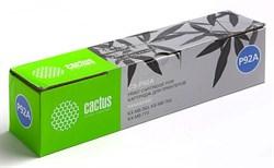 Лазерный картридж Cactus CS-P92A (KX-FAT92A7) черный для принтеров Panasonic KX MB263, MB263ru, MB763, MB763ru, MB773, MB773ru (2'000 стр.) - фото 6152