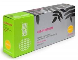 Лазерный картридж Cactus CS-PH6121M (106R01474) пурпурный увеличенной емкости для Xerox Phaser 6121, 6121 MFP, 6121 MFP d, 6121MFP n (2'600 стр.) - фото 6222