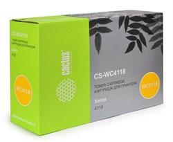 Лазерный картридж Cactus CS-WC4118 (006R01278) черный для Xerox FaxCentre 2218; WorkCentre 4118, 4118p, 4118x, 4118xn (8'000 стр.) - фото 6328