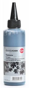 Чернила Cactus CS-I-CLI426BK черный для Canon PIXMA MG5140, 5240, 6140, 8140; MX884 (100 мл) - фото 6413