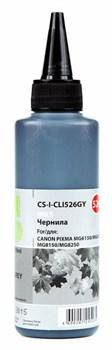 Чернила Cactus CS-I-CLI526GY серый для Canon PIXMA iP4850, MG5250, MG5150, iX6550 (100 мл) - фото 6423