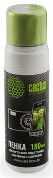 Чистящий набор (салфетки + пена) Cactus CS-S3006 для экранов и оптики 1 шт (18 x 18 см; 180 мл) - фото 6681