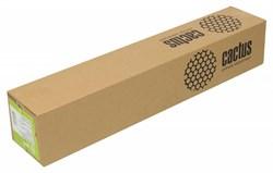 """Холст для струйной печати Cactus CS-MC340-61015 610мм-15м, 340г/м2, белый хлопок втулка: 50.8мм (2"""") - фото 6749"""