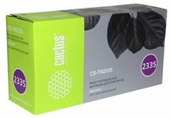 Лазерный картридж Cactus CS-TN2335 (TN-2335) черный для принтеров Brother DCP L2500, L2520, L2540, L2560; HL L2300, L2340, L2360, L2365; MFC L2700, L2720, L2740 (1'200 стр.) - фото 6758