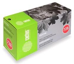 Лазерный картридж Cactus CS-C728S (Cartridge 728) черный для Canon Fax L150, L170, L410; MF4410 i-Sensys, 4430 i-Sensys, 4450 i-Sensys, 4550 i-Sensys, 4570 i-Sensys, 4580 i-Sensys, 4730 i-Sensys, 4750 i-Sensys, 4870 i-Sensys (2'100 стр.) - фото 7016