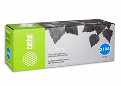 Лазерный картридж Cactus CS-CF210A(HP 131A) черный для HP Color LaserJet M251, M251n, M251nw, M276, M276n, M276nw (1'600 стр.) - фото 7067