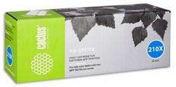 Лазерный картридж Cactus CS-CF210X(HP 131X) черный увеличенной емкости для HP Color LaserJet M251 (Pro 200 color), M251n, M251nw, M276 (Pro 200 color MFP), M276n (200 color MFP), M276nw (200 color MFP) (2'400 стр.) - фото 7116