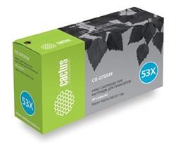 Лазерный картридж Cactus CS-Q7553XS(HP 53X) черный увеличенной емкости для HP LaserJet M2727 MFP, P2010 series, P2012, P2014, P2012n, P2014n, P2015, P2015d, P2015dn, P2015dtn, P2015n, P2015x (7'000 стр.) - фото 7136