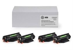 Комплект лазерных картриджей Cactus CS-CC530/CE410/CF380 (304A/305A/312A) для принтеров HP Color LaserJet 2320, M351, M476 (3'500 стр.) - фото 7235