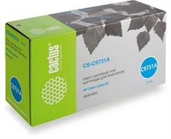 Лазерный картридж Cactus CS-C9731AR (HP 645A) голубой для HP Color LaserJet 5500, 5500DN, 5500DTN, 5500HDN, 5500TDN, 5500N, 5550, 5550DN, 5550DTN, 5550HDN, 5550N (12'000 стр.) - фото 7265