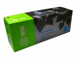 Лазерный картридж Cactus CS-CE271AR (HP 650A) голубой для HP Color LaserJet CP5520 Enterprise, CP5525 Enterprise, CP5525dn, CP5525xh, M750dn Enterprise D3L09A, M750n Enterprise D3L08A, M750xh Enterprise D3L10A (15'000 стр.) - фото 7288