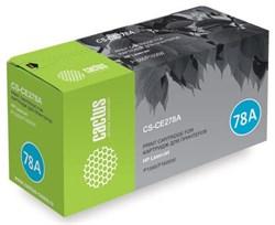Лазерный картридж Cactus CS-CE278A (HP 78A) черный для HP LaserJet M1536 MFP Pro, M1536dnf MFP Pro, P1560 Pro, P1566 Pro, P1600 Pro, P1606 Pro (2'100 стр.) - фото 7384