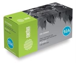 Лазерный картридж Cactus CS-C4092A (HP 92A) черный для HP LaserJet 1100, 1100a AiO, 1100axi AiO, 1100se, 1100xi, 3200, 3200m, 3200se, 3220 (2'500 стр.) - фото 7419