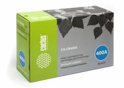 Лазерный картридж Cactus CS-CB400A (HP 642A) черный для HP Color LaserJet CP4005, CP4005DN, CP4005N (7'500 стр.) - фото 7507