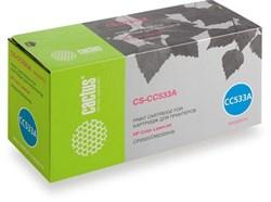 Лазерный картридж Cactus CS-CC533A (HP 304A) пурпурный для HP Color LaserJet CM2320 MFP, CM2320fxi (CC435A), CM2320n, CM2320nf (CC436A), CP2020 series, CP2025 (CB493A), CP2025dn (CB495A), CP2025n (CB494A), CP2025x (2'800 стр.) - фото 7555