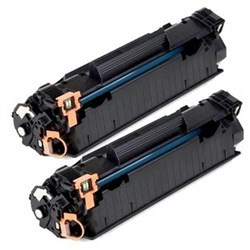 Лазерный картридж Cactus CS-CF283XD (HP 83X) черный увеличенной емкости для HP LaserJet M200 series, M201dw Pro, M201n Pro, M202dw Pro, M202n Pro, M225 Pro MFP, M225dn, M225dw, M225rdn (2 x 2'200 стр.) - фото 7556