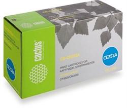 Лазерный картридж Cactus CS-CE252A (HP 504A) желтый для принтеров HP  Color LaserJet CM3530, CM3530fs MFP, CP3520, CP3525, CP3525dn, CP3525x (7'000 стр.) - фото 7570