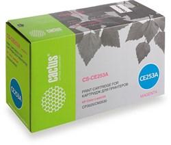 Лазерный картридж Cactus CS-CE253A (HP 504A) пурпурный для принтеров HP  Color LaserJet CM3530, CM3530fs MFP, CP3520, CP3525, CP3525dn, CP3525n, CP3525x (7'000 стр.) - фото 7574