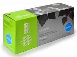 Лазерный картридж Cactus CS-CE410X(HP 305X) черный увеличенной емкости для HP Color LaserJet M351, M351a Pro, M375, M375nw MFP Pro, M451, M451dn Pro, M451dw Pro, M451nw Pro, M475, M475dn MFP Pro, M475dw MFP Pro (4'000 стр.) - фото 7617