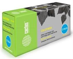 Лазерный картридж Cactus CS-CF362A (HP 508A) желтый для HP Color LaserJet M552dn Enterprise, M553 series, M553dn Enterprise, M553n Enterprise, M553x Enterprise, M577c Enterprise, M577dn Enterprise, M577f Enterprise (5'000 стр.) - фото 7661