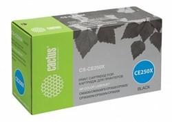Лазерный картридж Cactus CS-CE250XR (HP 504X) черный увеличенной емкости для HP Color LaserJet CM3530, CM3530fs, CM3530fs MFP, CP3520, CP3525, CP3525dn, CP3525n, CP3525x (10'500 стр.) - фото 7699