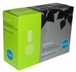 Лазерный картридж Cactus CS-CF287X (HP 87X) черный увеличенной емкости для HP LaserJet M501dn Pro (J8H61A), M501n Pro (J8H60A), M506dn, M506x, M527c, M527dn, M527f (18'000 стр.) - фото 7704