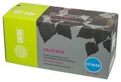Лазерный картридж Cactus CS-CF363X (HP 508X) пурпурный увеличенной емкости для HP Color LaserJet M552dn, M553, M553dn, M553n, M553x, M577c (9'500 стр.) - фото 7715
