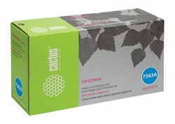 Лазерный картридж Cactus CS-Q7563A (HP 314A) пурпурный для HP Color LaserJet 2700, 2700n, 3000, 3000dn, 3000dtn, 3000n (3'500 стр.) - фото 7843