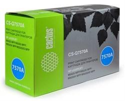 Лазерный картридж Cactus CS-Q7570A (HP 70A) черный для принтеров HP LaserJet M5025 MFP, M5035 MFP, M5035x MFP, M5035xs MFP, M5039 Enterprise, M5039xs MFP (15000 стр.) - фото 7847