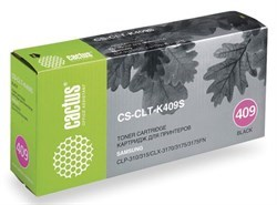 Лазерный картридж Cactus CS-CLT-K409S (CLT-K409S) черный для Samsung CLP 310, 310n, 315, 315n, 315w; CLX 3170, 3170n, 3170fn, 3175, 3175fn, 3175fw, 3175n (1'500 стр.) - фото 7866