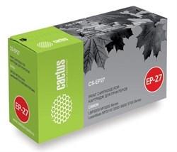 Лазерный картридж Cactus CS-EP27S (EP-27) черный для Canon imageClass MF3110, MF3240, MF5550, MF5730, LaserBase MF3110, MF3200, MF3220 i-Sensys, MF3240, MF5630, MF5750, LBP 27, 300, 3200 Laser Shot, 3240 i-Sensys (2'700 стр.) - фото 8112