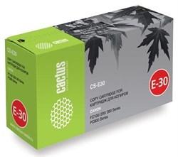 Лазерный картридж Cactus CS-E30S (1491A003) черный увеличенной емкости для Canon FC 21, 100, 200, 300, 530, 740, 770, PC 140, 160, 300, 400, 530, 680, 710, 750, 780, 790, 850, 870, 920, 950, Olivetti Copia 8004, 8006, 9004, 9404 (4'000 стр.) - фото 8116