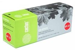 Лазерный картридж Cactus CS-EP22S (EP-22) черный для Canon LBP 22, 22x, 250, 350, 800, 810, 1110, 1110se, 1120 Laser Shot, 5585, 5585i, P420 (2'500 стр.) - фото 8120