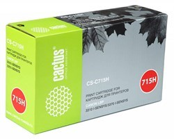 Лазерный картридж Cactus CS-C715H (1976B002) черный увеличенной емкости для Canon LBP 3310 i-Sensys, 3370 i-Sensys (7'000 стр.) - фото 8121