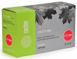Лазерный картридж Cactus CS-C711BK (Cartridge 711) черный для Canon imageClass MF9220, MF9220cdn, MF9280; LBP 5300 i-Sensys, 5360 i-Sensys; MF8450 i-Sensys, 9130 i-Sensys, 9170 i-Sensys, 9220 i-Sensys, 9280 i-Sensys (6'000 стр.) - фото 8157