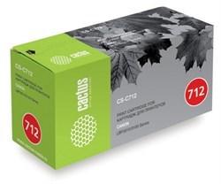 Лазерный картридж Cactus CS-C712 (Cartridge 712) черный для Canon LBP 3010 i-Sensys, 3010b i-Sensys, 3020 i-Sensys, 3100 i-Sensys (1'500 стр.) - фото 8174