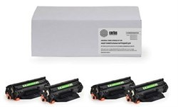Комплект картриджей Cactus CS-C716BK-C716C-C716M-C716Y для принтеров Canon LBP 5050 i-Sensys, 5050n; MF8030 i-Sensys, 8030cn, 8040, 8040cn, 8050, 8080 - фото 8179