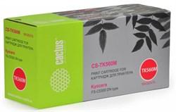 Лазерный картридж Cactus CS-TK560M (TK-560M) пурпурный для принтеров Kyocera Mita P6030 Ecosys, P6030cdn Ecosys, Mita FS C5300, C5300dn, C5350, C5350dn (10'000 стр.) - фото 8225