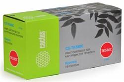 Лазерный картридж Cactus CS-TK580C (TK-580C) голубой для принтеров Kyocera Mita P6021 Ecosys, P6021cdn Ecosys, Mita FS C5150, C5150dn (2'800 стр.) - фото 8229
