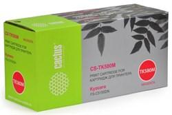 Лазерный картридж Cactus CS-TK580M (TK-580M) пурпурный для принтеров Kyocera Mita P6021 Ecosys, P6021cdn Ecosys, Mita FS C5150, C5150dn (2'800 стр.) - фото 8234