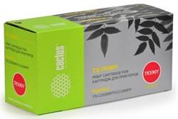 Лазерный картридж Cactus CS-TK590Y (TK-590Y) желтый для принтеров Kyocera Mita Ecosys M6026, M6026cdn, M6026cidn, M6526, M6526cdn, M6526cidn, P6026cdn, FS C2026, FS C2126, FS C2526 MFP, FS C2626 MFP, FS C5250 (5'000 стр.) - фото 8238