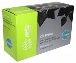 Лазерный картридж Cactus CS-SP3400 (SP 3400HE) черный для Ricoh Aficio SP 3400, 3410, 3400n, 3410dn, 3400sf, 3410sf, 3510sf (5'000 стр.) - фото 8303