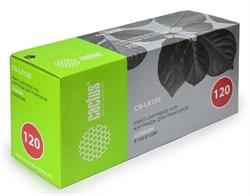 Лазерный картридж Cactus CS-LX120 (12016SE) черный для принтеров Lexmark Optra E120, E120n (2'000 стр.) - фото 8332