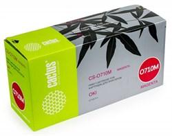Лазерный картридж Cactus CS-O710M (44318606) пурпурный для принтеров OKI C710, С711 (11'500 стр.) - фото 8357