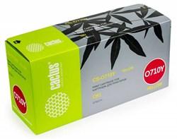 Лазерный картридж Cactus CS-O710Y (44318605) желтый для принтеров OKI C710, С711 (11'500 стр.) - фото 8358