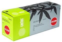 Лазерный картридж Cactus CS-O610BK (44315308) черный для принтеров Oki C610n, C610dn (8'000 стр.) - фото 8365
