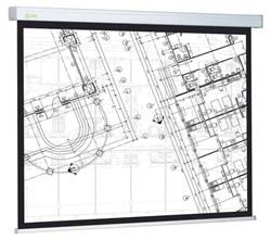 """Экран Cactus Wallscreen CS-PSW-104x186 87"""" 16:9 настенно-потолочный белый (104x186 см.) - фото 8414"""