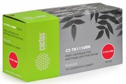 Лазерный картридж Cactus CS-TK1110BK (TK-1110) черный для принтеров Kyocera Mita FS 1020 MFP, 1040, 1120 MFP (2'500 стр.) - фото 8454